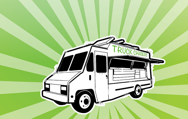 Food Truck cartoon