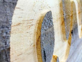 Wood meant for cargo makes beautiful art. See page 55