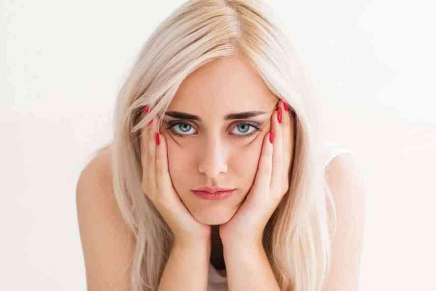 The concept of frustration,fatigue, sadness