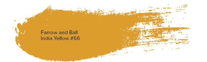 Farrow and Ball India Yellow #66