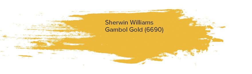 Sherwin Williams Gambol Gold