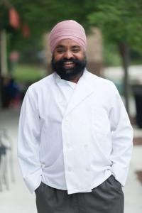 Randhir Singh, chef at Zayka