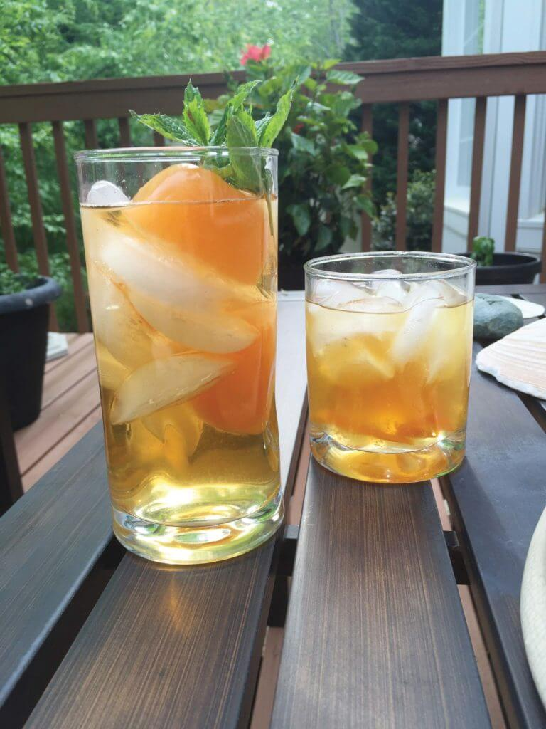 Cantaloupe Mint Sweet Tea and The Gentleman's Sweet Tea