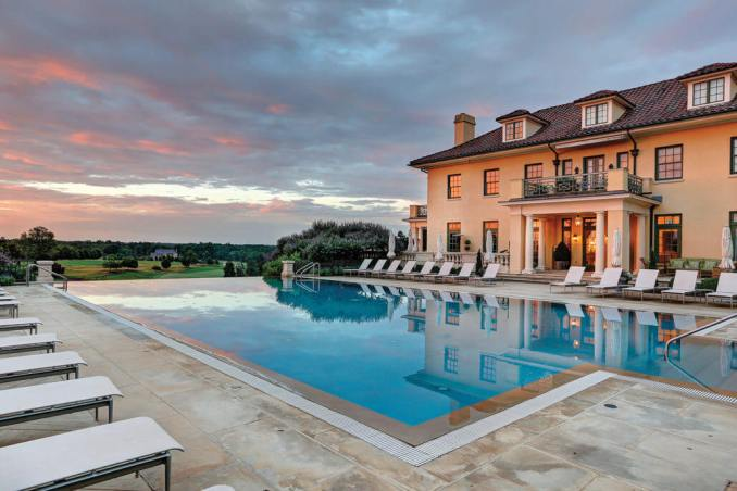 Keswick Hall Resort and Hotel located just outside Charlottesville in Keswick, Virginia. Photo/Andrew Shurtleff