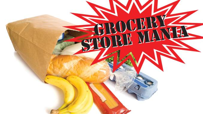 grocery store mania