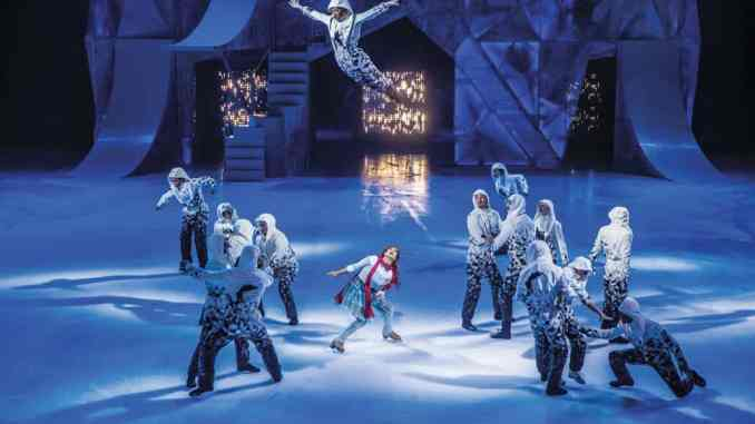 """""""Crystal"""", Cirque du Soleil's first-ever ice experience."""