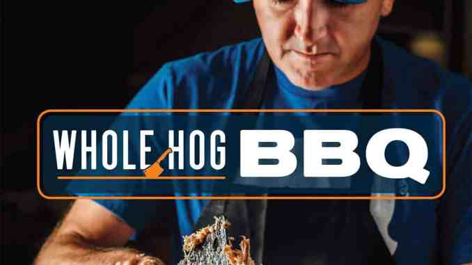 Whole Hog BBQ cookbook by renowned pitmaster Sam Jones