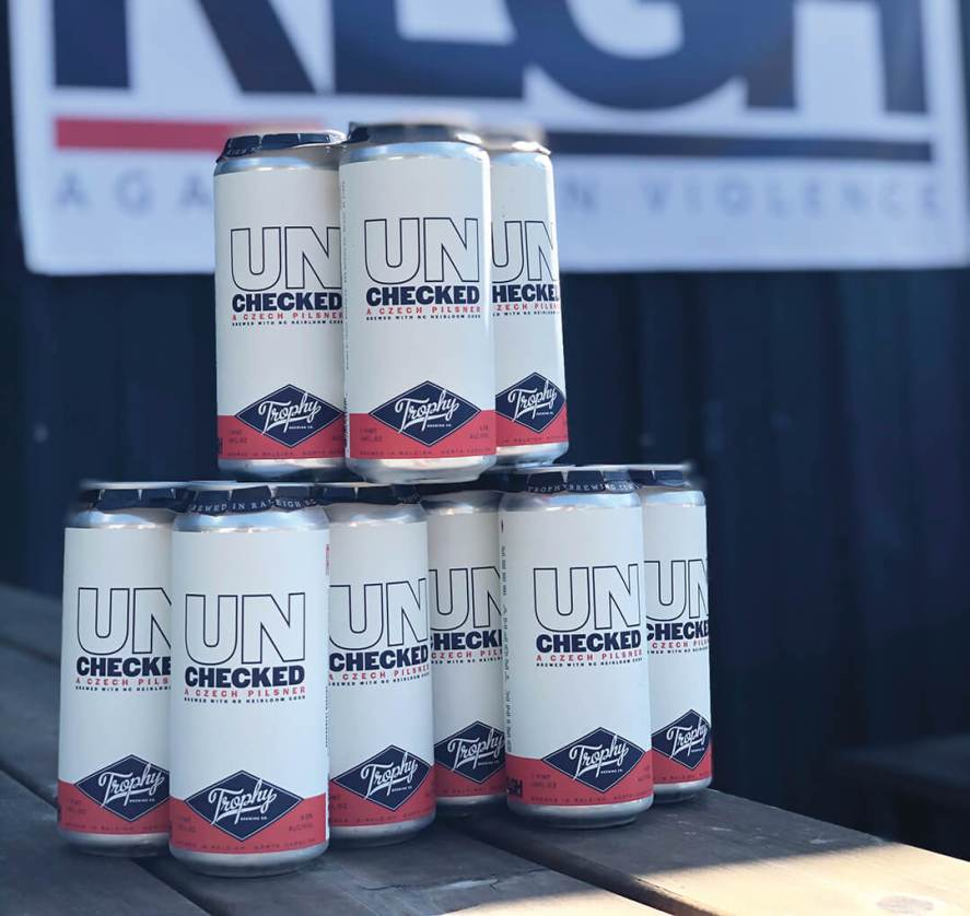 Trophy Brewing's Czech Pilsner, Unchecked