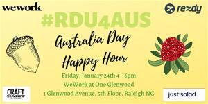 #RDU4AUS - Australia Day Happy Hour @ WeWork at One Glenwood (5th Floor) | Raleigh | North Carolina | United States