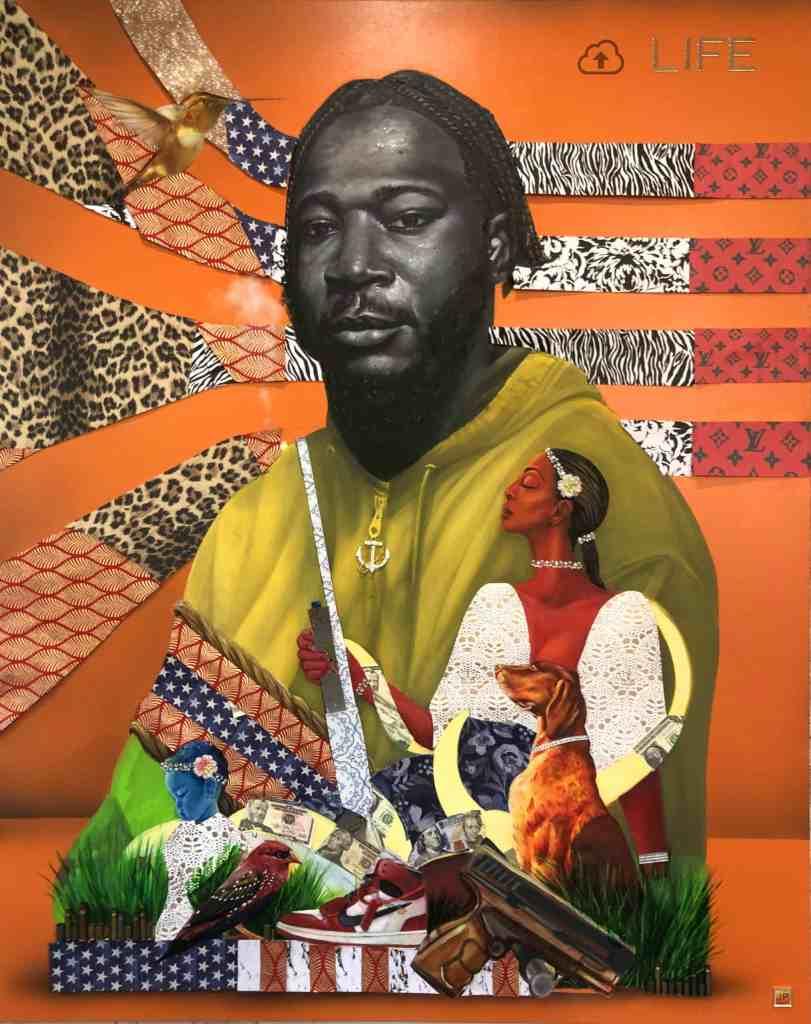 JP Jermaine Powell's portrait of Telvin Wallace