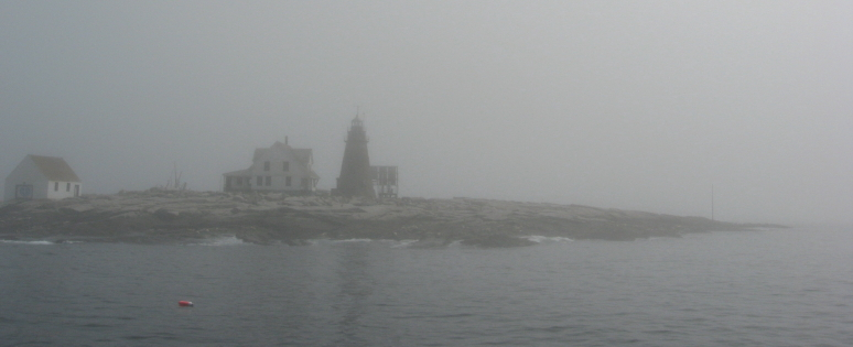 Mount Desert Rock, 25 miles out to sea