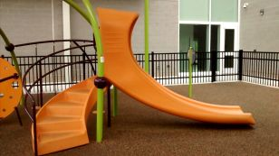 Slide on 2-5 year old section