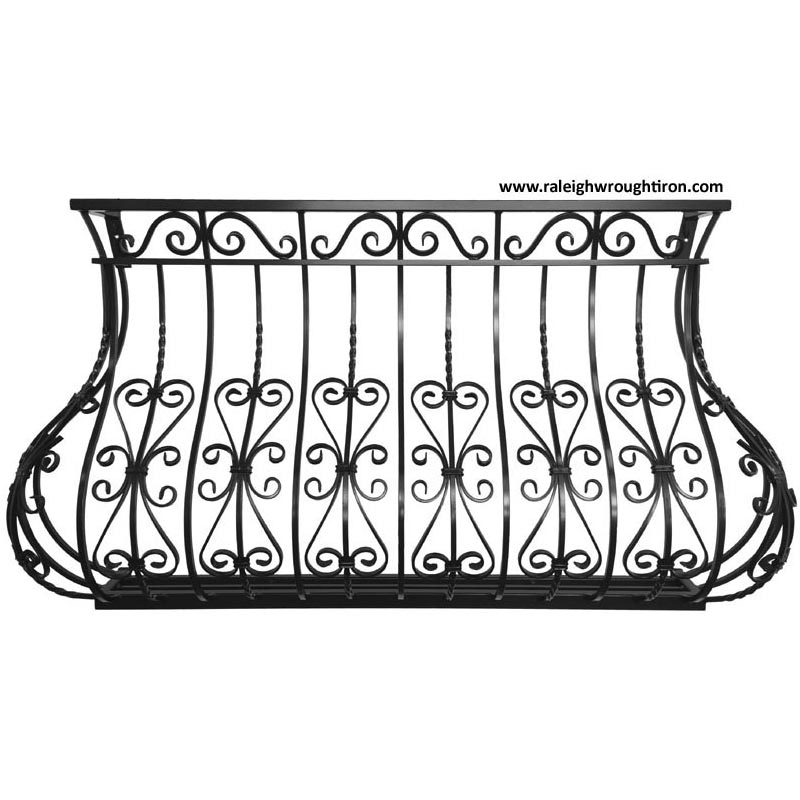 Wrought Iron Juliet Balcony B6