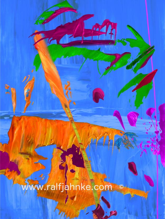 contemporary digital abstract art print / © Ralf Jahnke-Wachholz, contemporary abstract artist – paintings and digital abstract art prints