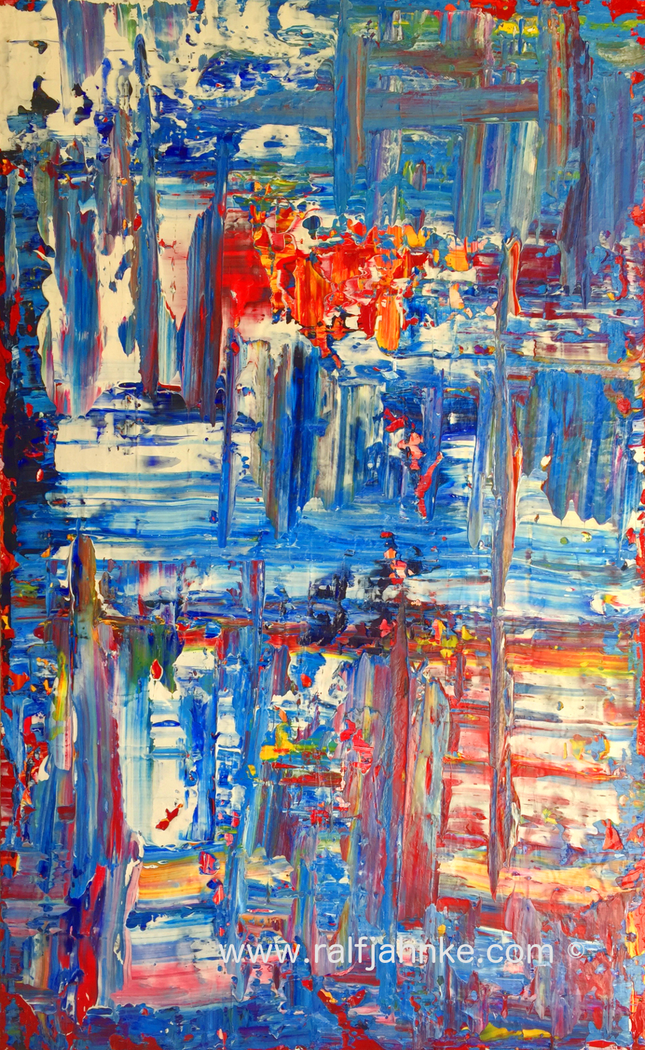 abstract expressionism - contemporary painting by © 2019 Ralf Jahnke-Wachholz - abstract art gallery, modern, expressionism, abstract expressionism, fine art, new art, saatchiart