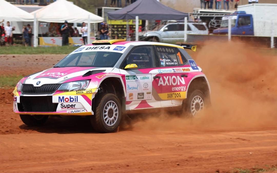 XLIV Transchaco Rally: Gustavo Saba se hace con la sexta pole de su palmarés