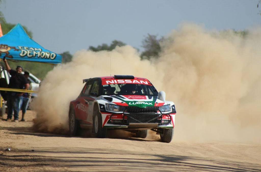 Didier Arias y Héctor Nunes logran el tetracampeonato en el XLIV Transchaco Rally