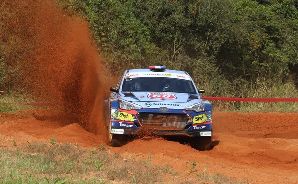 Petrobras Rally de la República 2018: Dominguez y Zaldívar, los más rápidos en las pruebas oficiales