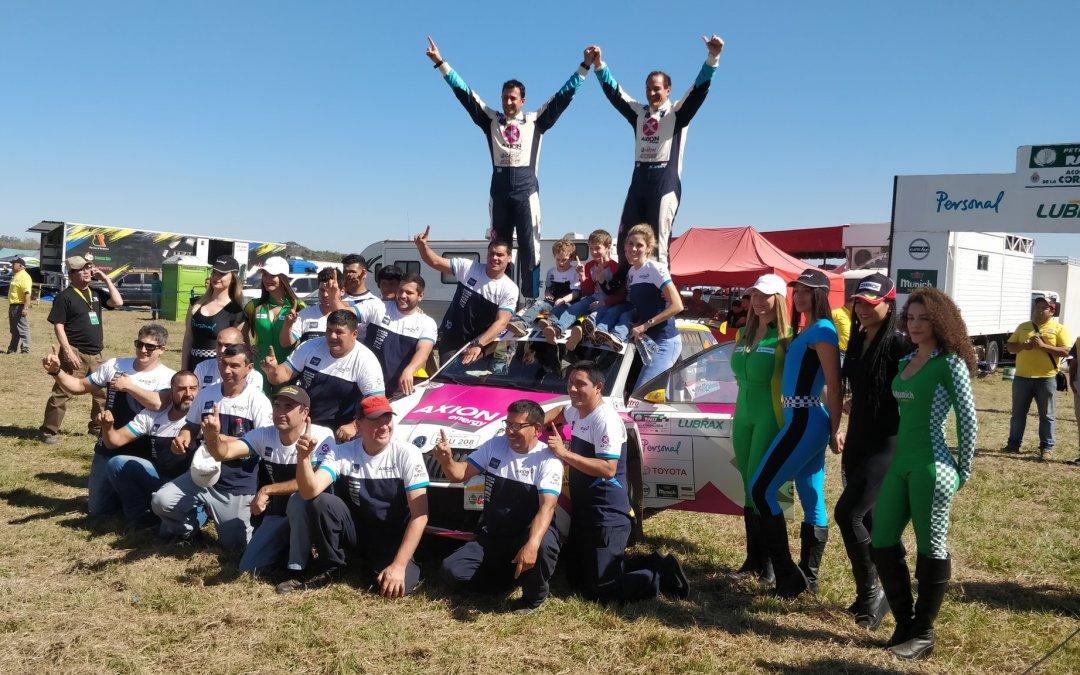 Petrobras Rally de Cordillera: Gustavo Saba llega al receso como sólido líder del campeonato