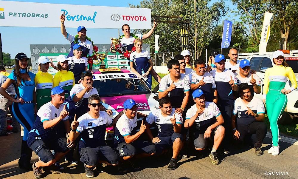 La fiesta del XLV Petrobras Transchaco Rally ya se encuentra en marcha