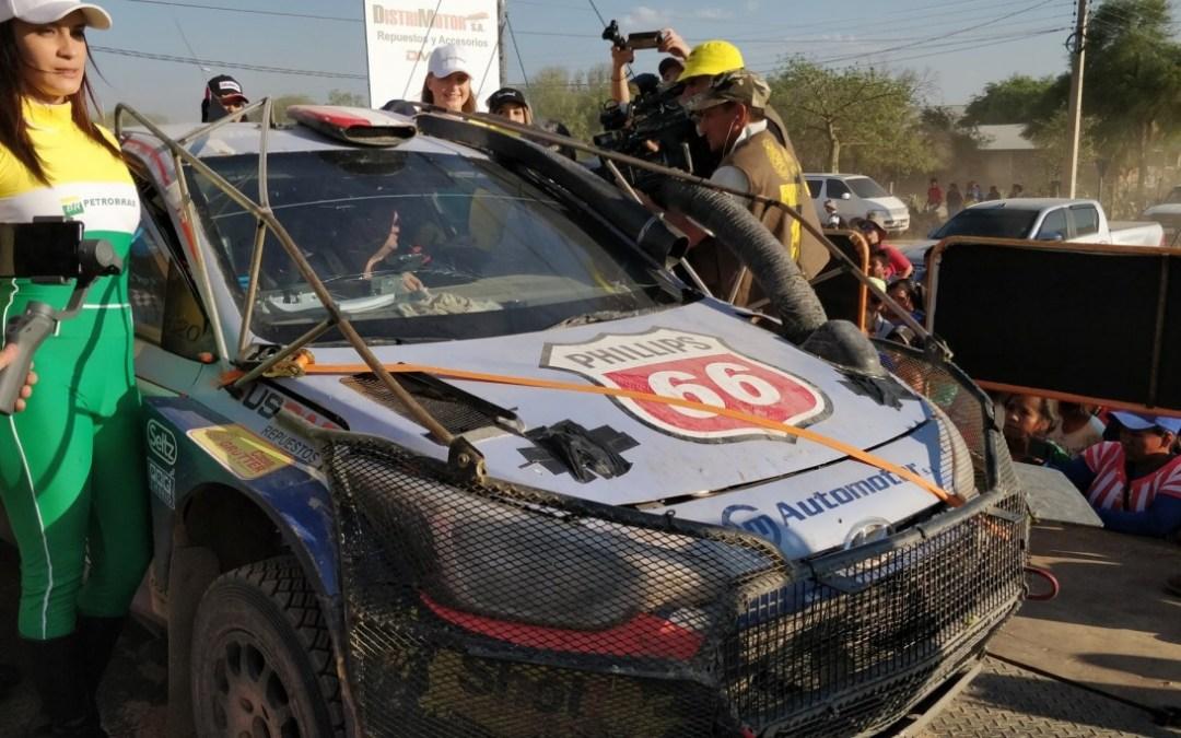 XLV Petrobras Transchaco Rally: En un caluroso sábado, Diego Domínguez se anota dos tercios del Rally