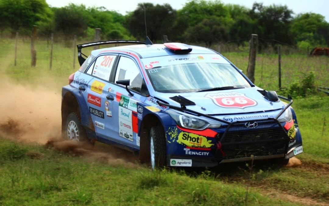 XLV Petrobras Transchaco Rally: Domínguez culmina a la cabeza en una desafiante primera etapa