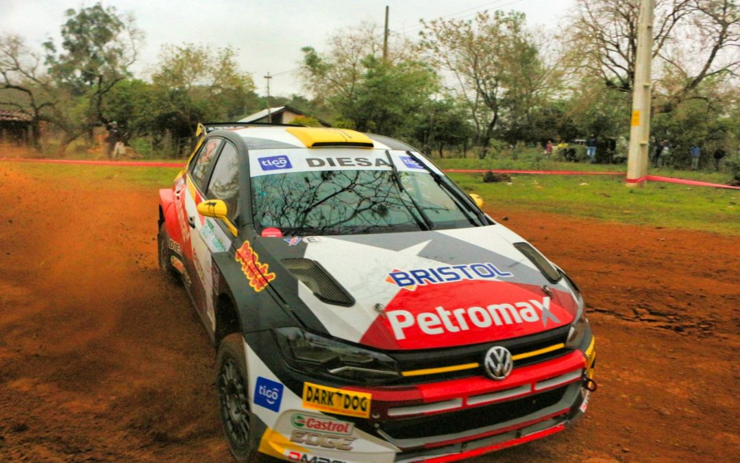 Petrobras Rally de Acosta Ñu 2019: Gustavo Saba se queda con la jornada sabatina