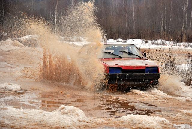 третий этап кубка ледовых гонок Юрал Трофи