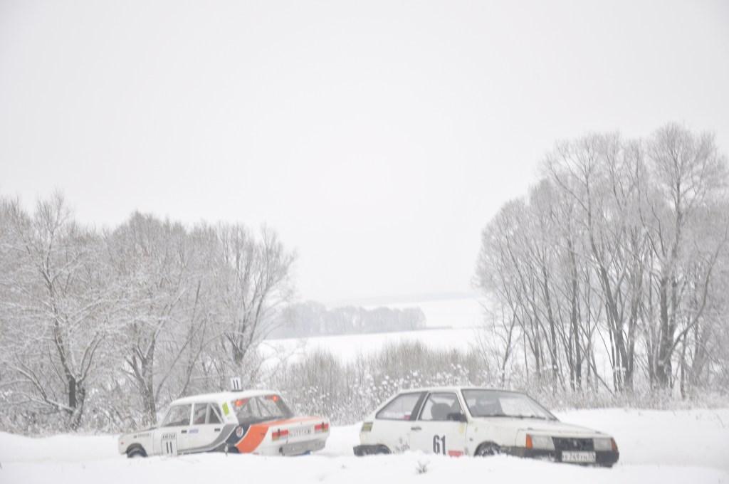 2-й этап ледовых гонок Юрал Трофи завершен