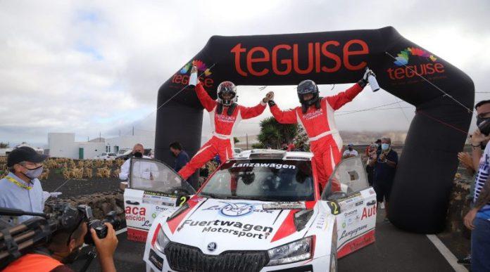 Yeray Lemes gana el Rallye Isla de Los Volcanes 2021