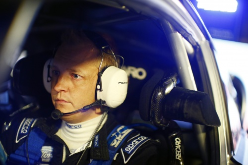 Mikko Hirvonen Interview after WRC Rally GB Day1
