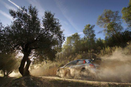 WRC Rally Spain 2014 Day2