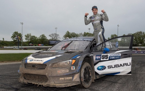 SUBARU USA PODIUM FINISH LAST WEEKEND