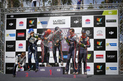 WRC RALLY AUSTRALIA 2017 FINAL
