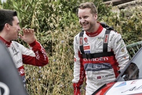 MADS ØSTBERG TO COMPETE FOR CITROËN RACING FOR THE REST OF THE SEASON