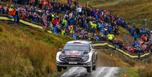 WRC WALES RALLY GB 2018 DAY3