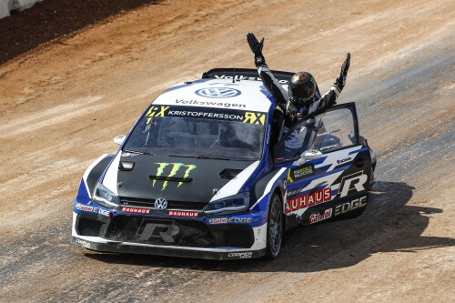 Johan Kristoffersson is the 2018 FIA World Rallycross Champion