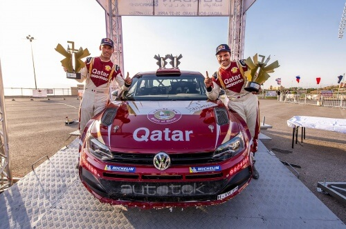 Nasser Al-Attiyah clinches second victory in Polo GTI R5