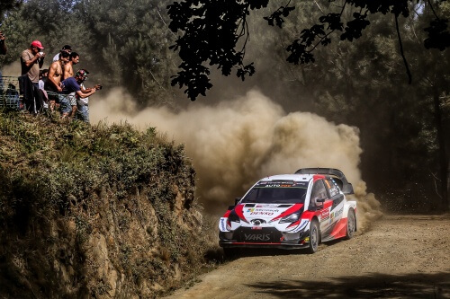 WRC RALLY DE PORTUGAL 2019 DAY1