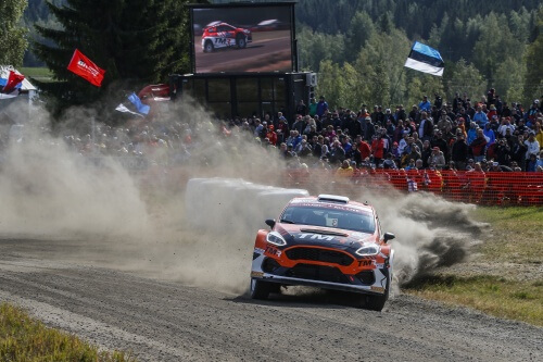 An early end to Rally Finland for Katsuta