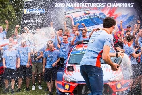 Hyundai Motorsport – WRC 2019 Manufacturers' title