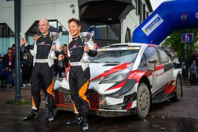 Takamoto Katsuta set to drive a Toyota Yaris WRC on 8 Events