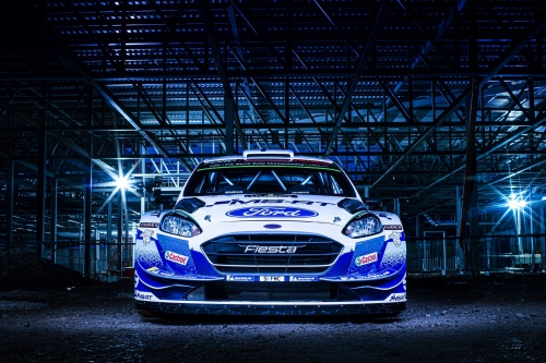 M-SPORT's Ford Fiesta WRCs will be adorned with a striking new livery 2020 season