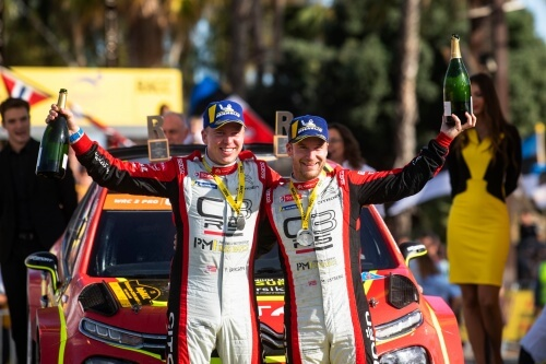 Citroën Racing is to continue competing in WRC