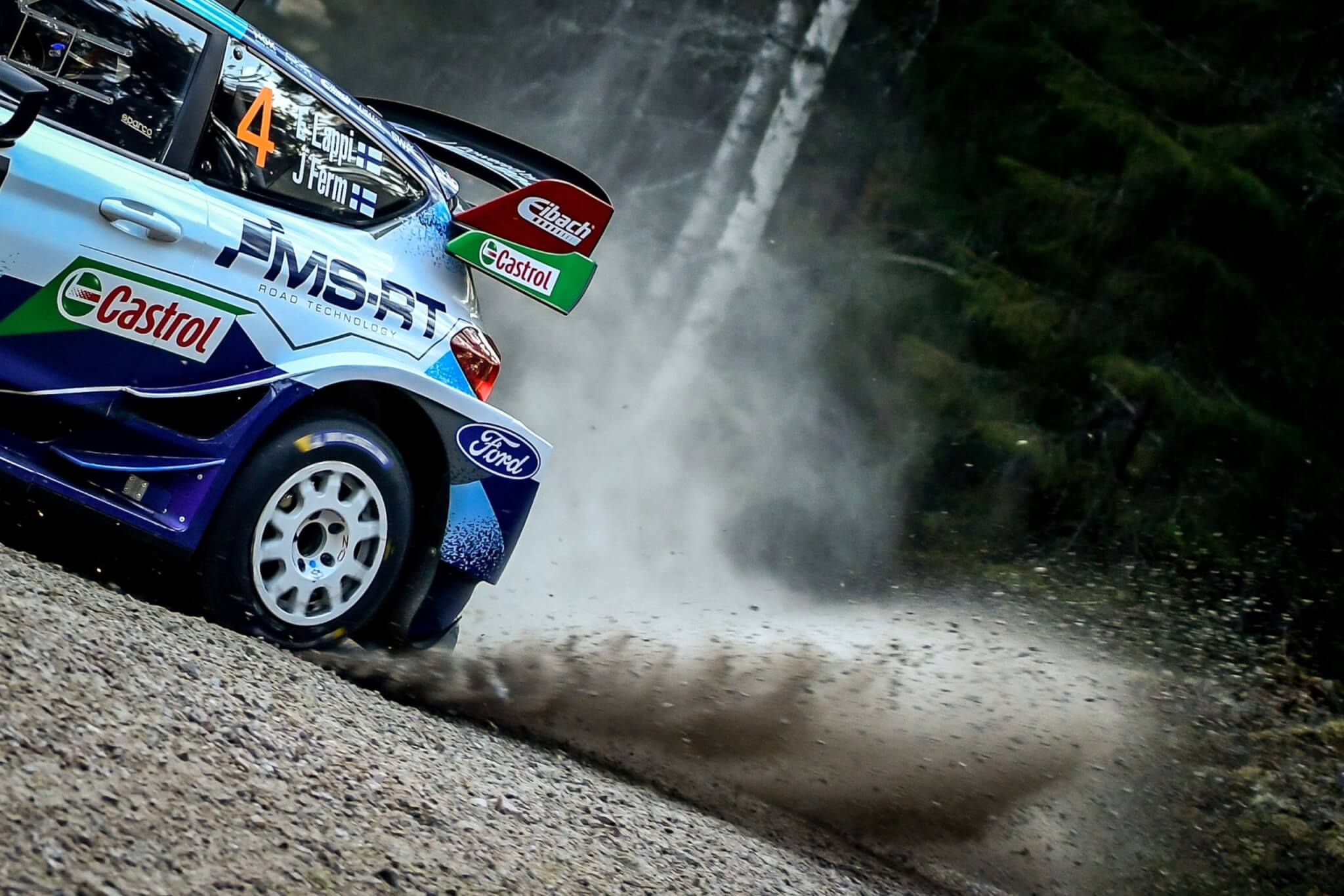 The M-Sport Return to Rally Stages