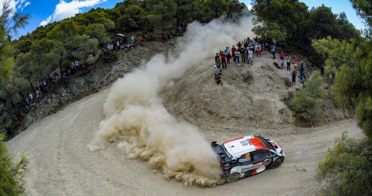 WRC ACROPOLIS RALLY GREECE 2021 DAY2