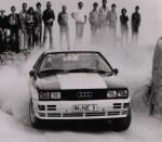 1980 Audi quattro Rally Car