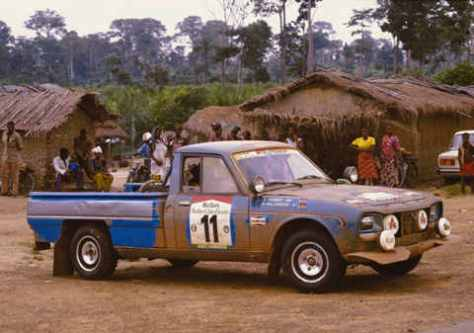 Peugeot 504 Pickup Group B Rally Group B Shrine