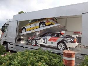 Audi Sport cars ERF