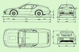 renault-alpine-a310-v6-drawing